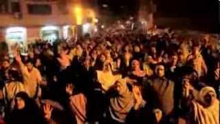 رغم اجرام ملشيات الانقلاب العسكرى واصل ثوار منطقة السيوف شماعة ثوراتهم 7-1-2014