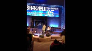 """Jason Crabb singing """"God on The Mountain"""" at Pathway of Life June 17, 2012"""