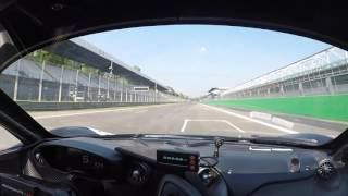 Bruno Senna Monza hot lap in McLaren P1 GTR