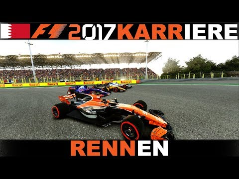 VERTEIDIGEN AM LIMIT! | F1 2017 Karriere #009 Bahrain(R)[German|HD+|PC|Wheel CAM]