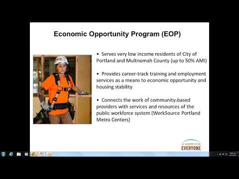 Aligning Workforce & Housing Systems: An Example from Multnomah County