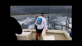 Fishing on the Lady-K out of Lantana 8-12-2012