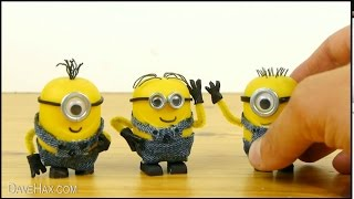 Как сделать самому игрушку Миньона, самодельные игрушки Миньоны Minion