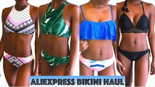 AFFORDABLE ALIEXPRESS BIKINI TRY ON HAUL + REVIEW | UNDER $20 | 2017 |MsElizJay
