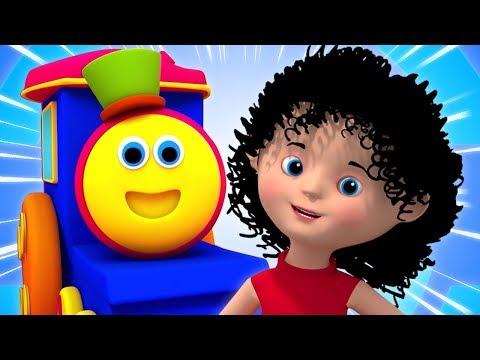 Bob o trem vídeos e músicas para crianças | Rimas Infantis Pré-Escolares