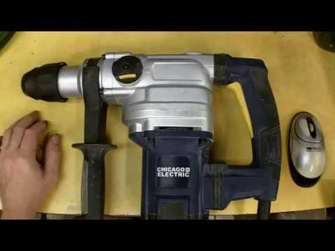Harbor Freight SDS Max Rotary Hammer Review Item 69334