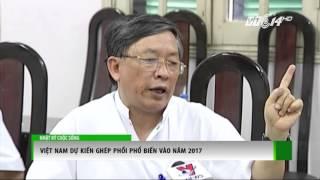 (VTC14)_Việt Nam dự kiến ghép phổi phổ biến vào năm 2017