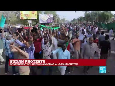 Sudan's Omar al Bashir steps down, say government sources