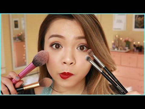Cọ Trang Điểm Giá Bình Dân Yêu Thích ♡ My Favorite Drugstore Makeup Brushes ♡ TrinhPham