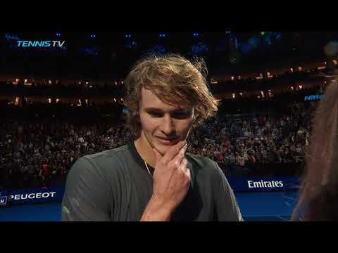 Zverev vs Federer: ball kid & crowd drama   Nitto ATP Finals 2018 Semi-Final