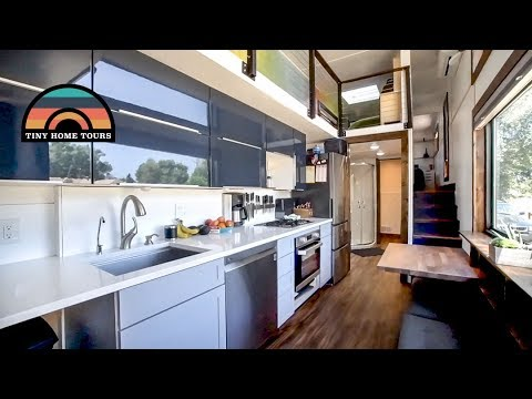 Family Of 5 & Their Gorgeous DIY 2 Story 5th Wheel Tiny House