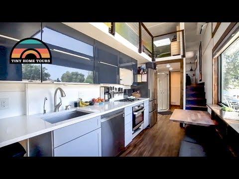 Family Of 5 & Their Gorgeous DIY 2 Story 5th Wheel Tiny House