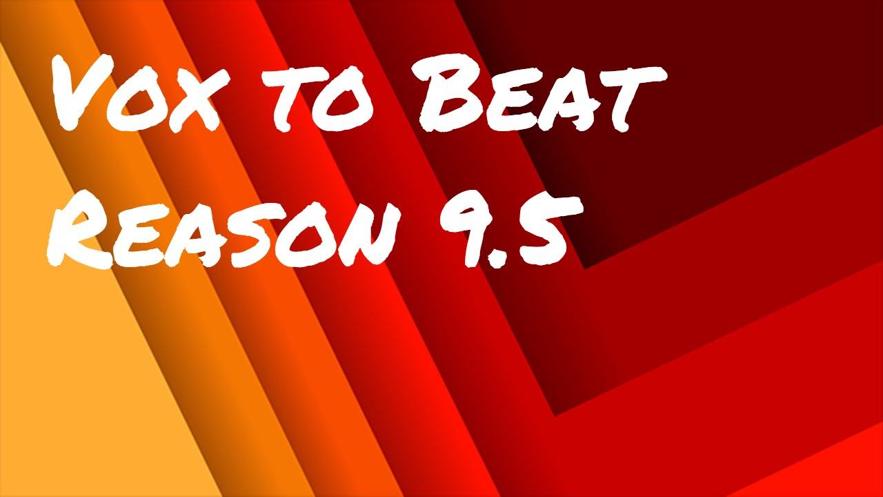 Reason 5-beat making tutorial-how too make beats with kong(me and.