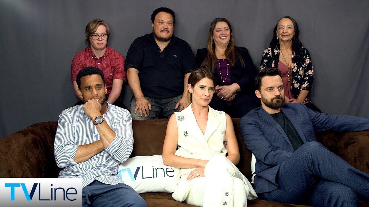 Stumptown Cast Interview Comic Con 2019 Youtube