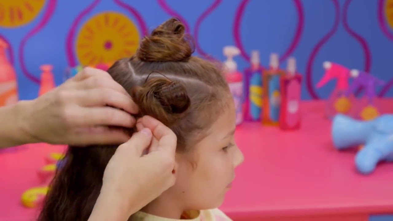 How to Make Silly Buns 🤪  Style Files Hair Tutorial | Sunny Day | Nick Jr.