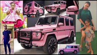 Flavour Gifts Her Daughter Sophia A Brand New Pink Gwagon For Her School Run
