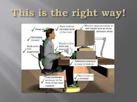 Ergonomics Powerpoint Presentation   You Tube