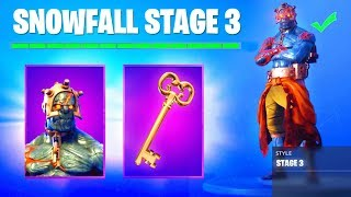 How to UNLOCK STAGE 3 The Prisoner Skin KEY LOCATION Campfire... Fortnite (Stage 3 Key Location)