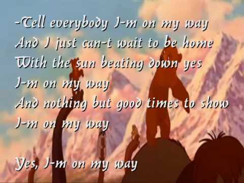 Karaoke / Instrumental - Phil Collins - On My Way (with Lyrics + Backing Vocals)
