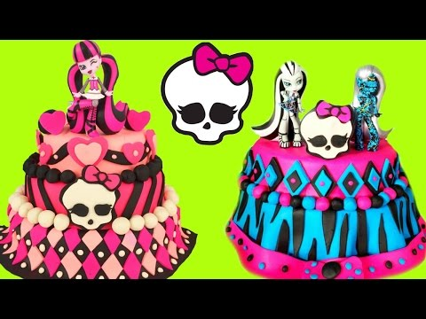 MONSTER HIGH Play Doh Cake Compilation Show! Toy Surprises and Blind Bags!