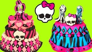 MONSTER HIGH Play Doh Cake Compilation Show! Toys and  !
