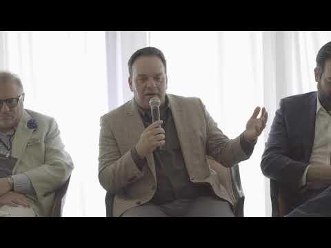 Eduardo Gonzalez speaking at AB 27 Business Club Event