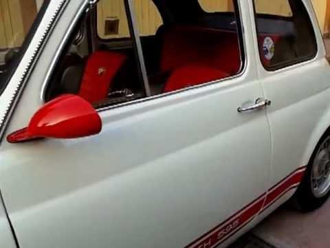 Fiat 500 Abarth D Epoca Youtube