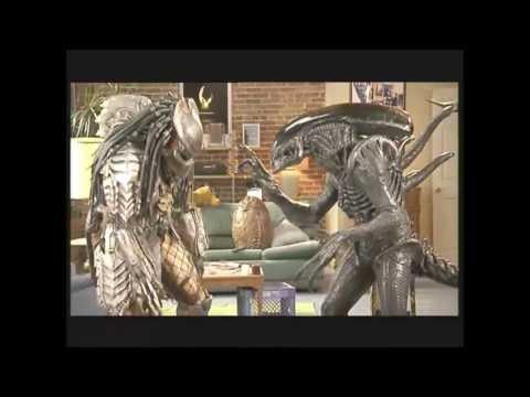 Aliens vs. Predator: Requiem -  Funny Battles (HQ)