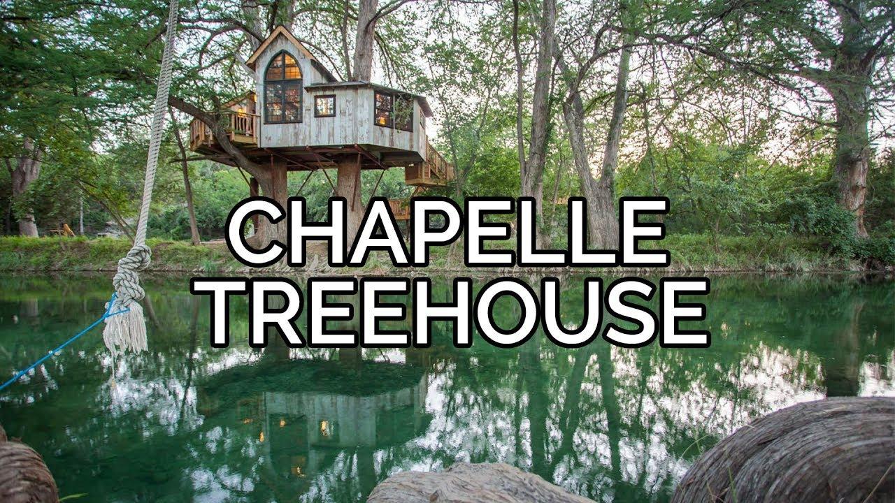 Treehouse Utopia Chapelle Tour