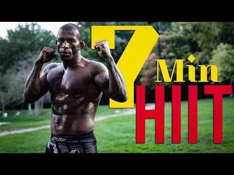 7 MIN SUPER HIIT MMA WORK OUT NO EQUIPMENT