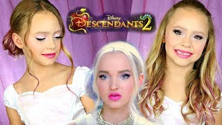 Descendants 2 Mal Auradon Makeup