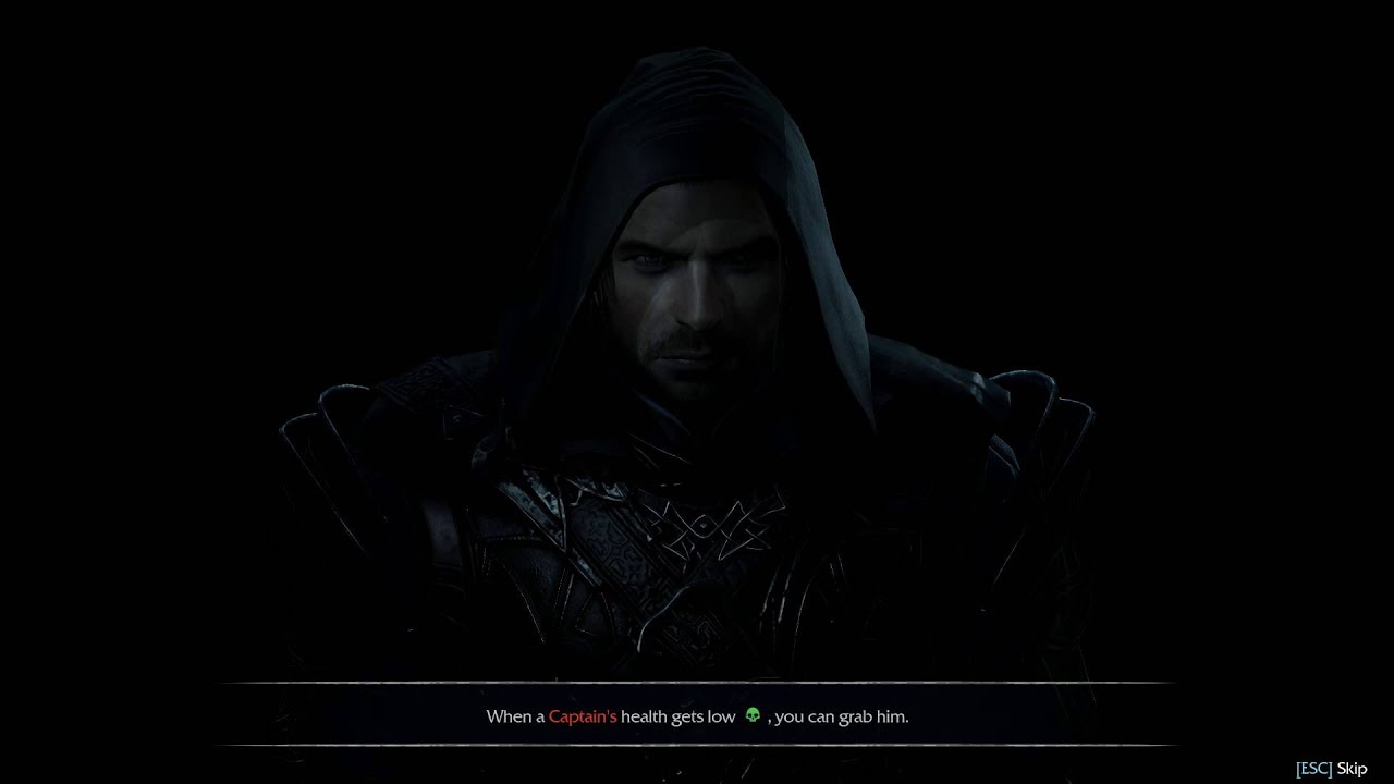 Middle-Earth Shadow of Mordor [Loading] - Talion Singing For His Dead Family