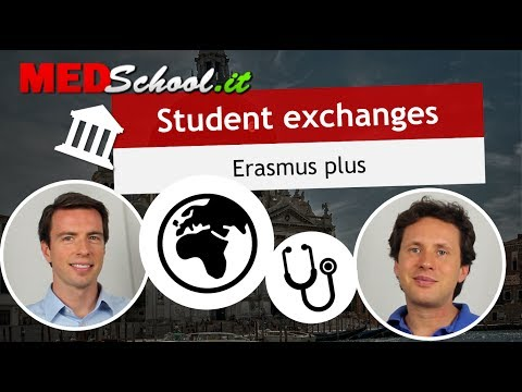 What student exchange can you do? - English Med Schools in Italy with Erik Campano and Alex O.