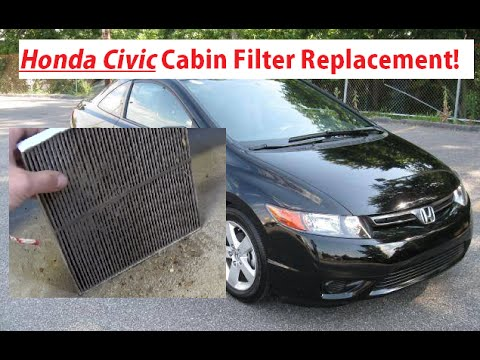 Charmant Honda Civic Cabin Air Filter Replacement And Location 2006   2011. Honda  Civic Cabin Filter Install   YouTube