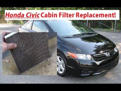 Charmant Honda Civic Cabin Air Filter Replacement And Location 2006   2011. Honda  Civic Cabin Filter Install   YouTube