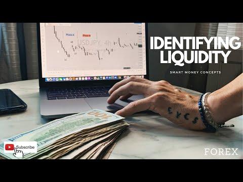 HOW TO IDENTIFY LIQUIDITY! (FOREX)