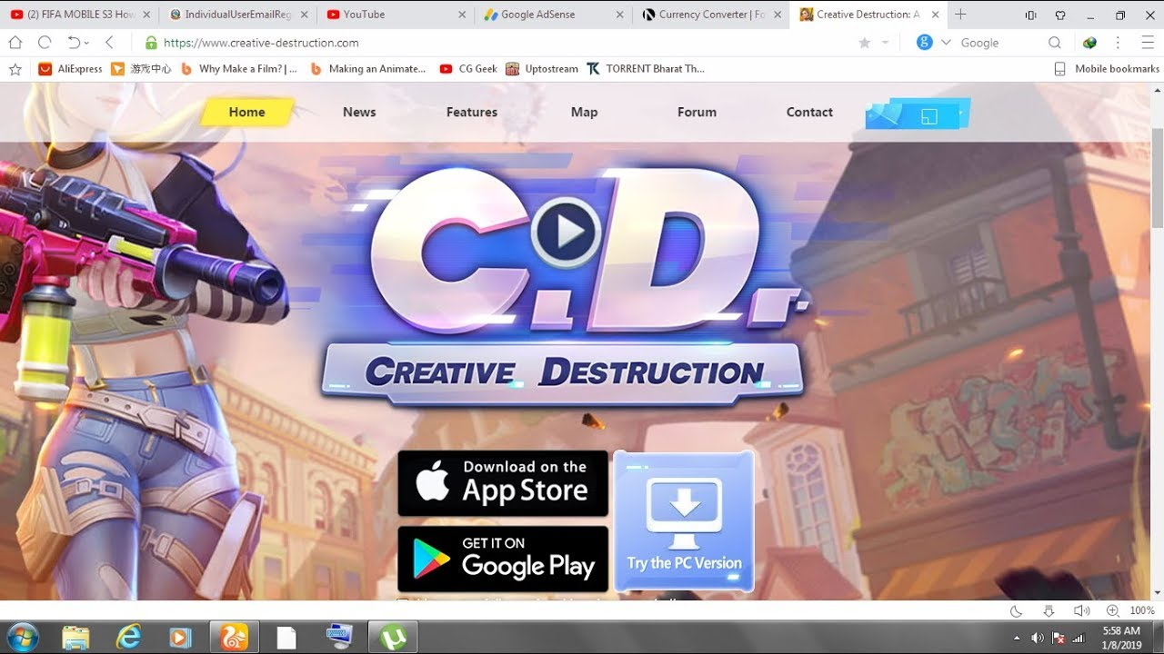 Pc/mac]download creative destruction (forntine clone) for pc and.