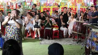 홍단이품바 토요일 밤에 그집앞 군산항아 열광의 도가니 일산 해수욕장 0713