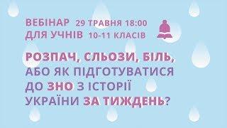 Розпач, сльози, біль, або як підготуватися до ЗНО з історії України за тиждень?