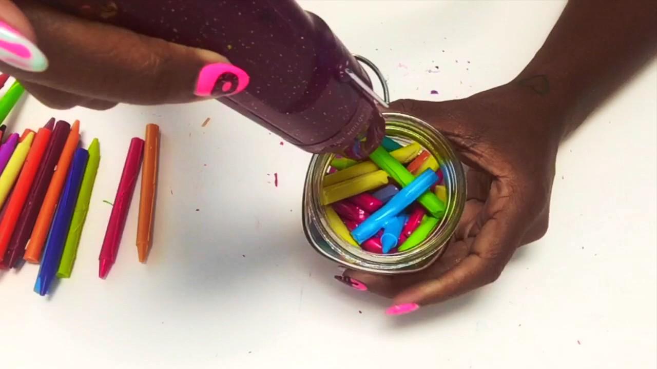 Diy Crayon Candle You
