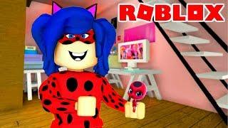 Roblox - VIREI A LADYBUG (Miraculous Ladybug Roleplay)