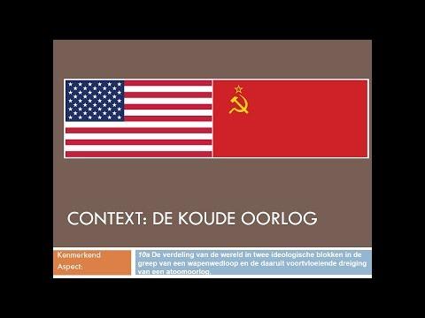 Context Koude Oorlog