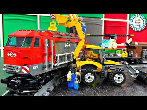 Lego City 60098 Speed Build | Lego City Heavy-Haul Train 60098 | Fast Build Lego Train