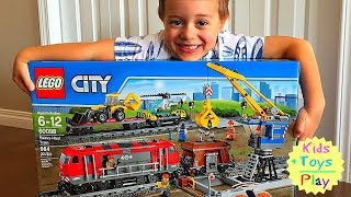 Lego City 60098 Speed Build | Lego City Heavy-Haul Train 60098 | Fast Build Lego Train