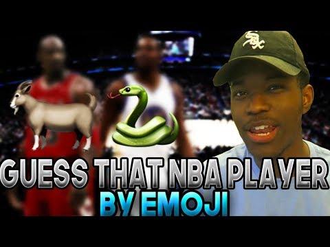 GUESS THAT NBA PLAYER BY EMOJI!