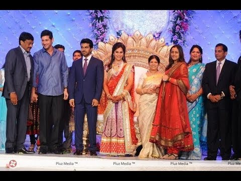 Ram Charan Upasana Wedding Reception 05 Youtube