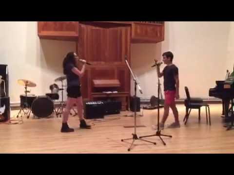 Defying Gravity (Ariella Hyman-Fessler and Daniel Goldberg @ slosberg music center)