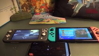 Nintendo Switch Lite Gray Unboxing and Battery Test