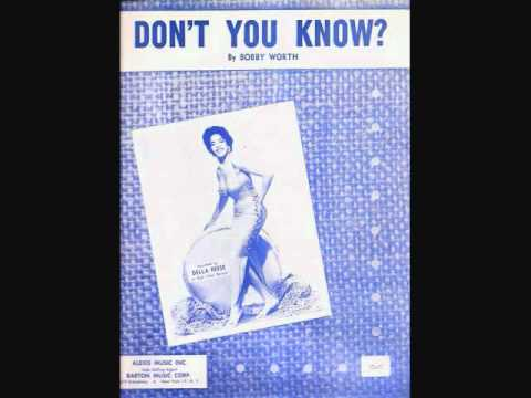 Della Reese - Don't You Know (1959)