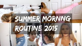 Summer Morning Routine 2015 | Aidette Cancino